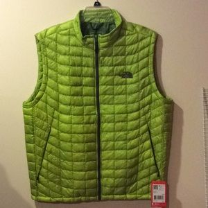 Men's thermoball vest the north face